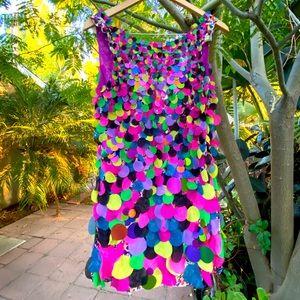 Diane von Furstenberg multicolored Cocktail Dress